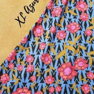 Lularoe XL Azure Skirt